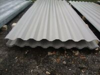 brand new 8ft long grey polyester coated box profile roofing sheets