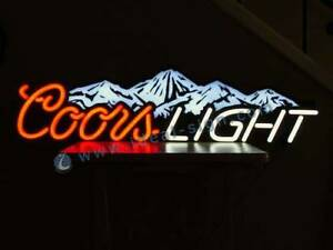 Coors Light Beer Sign...