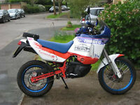 Paris Dakar Aprilia Tuareg 600. Rebuilt Reliable Modern Classic.