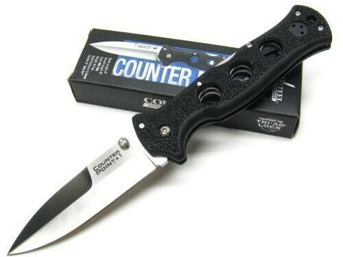 Cold Steel 10AB Tactical Black Counter Point I Straight Fold