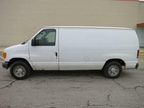$ 3 - 2011 Ford E 250 Van Recreational Extended 5 4l