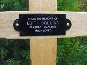 Wooden Memorial Cross