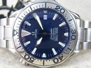 Omega Seamaster Electric Blue