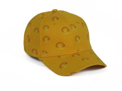 Cheese Head Hat  In Green Bay Packer Gold