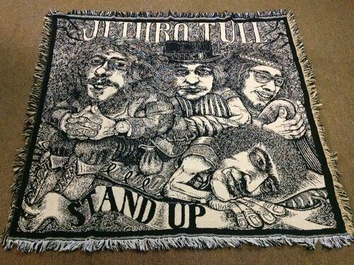 Stand Up Jethro Tull Throw Blanket