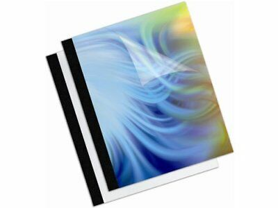 Fellowes Thermal Presentation Covers - 18 30 Sheets Black - 30 Sheet
