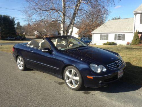 mercedes benz clk 320 convertible ebay. Black Bedroom Furniture Sets. Home Design Ideas