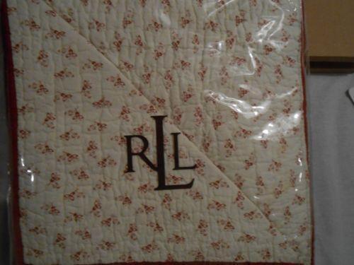 Ralph Lauren White Quilt Ebay