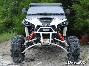 ATV TIRE RACK Can-Am Maverick Front Bumper by SuperATV