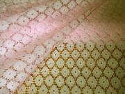Pink Lace Fabric