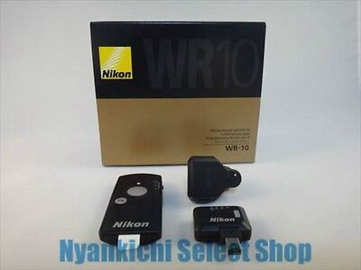 Nikon Official Wireless Remote Adapter Set WR-10 Japan New WR-R10 WR-T10 WR-A10