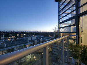 Arbutus Walk Penthouse with 14 foot ceilings! This amazing