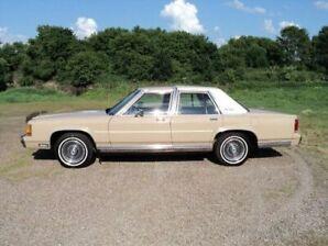 2-1989 Ford LTD Crown Victs.  5.0 litre (302) EFI  not hi output