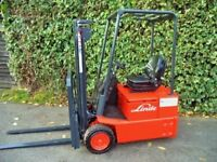 Linde E12 Electric Counterbalance forklift truck
