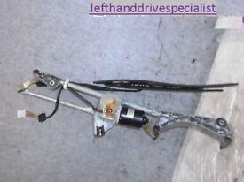 Left hand drive Europe single wiper arm link & motor Mercedes C Class w203 2000 - 2006 LHD version