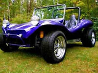 Purple VW Street Legal Dune Buggy