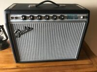 Fender priceton 68 re-issue with greenback speaker