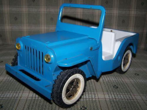Tonka Trucks Ebay >> Tonka Jeep: Pressed Steel | eBay