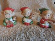 Vintage Elf Ornament
