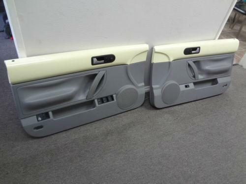 2000 vw beetle door panels ebay. Black Bedroom Furniture Sets. Home Design Ideas