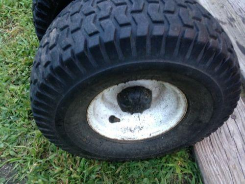 Lawn Mower Tires And Rims Ebay