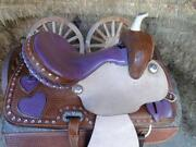 Leather Western Saddle 15