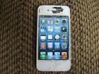 iPhone 4 White 16GB Cracked
