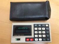 Casio Mini Memory Electronic Calculator Taschenrechner Vintage Köln - Widdersdorf Vorschau