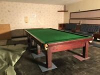 Full Size Snooker Table and Accessories