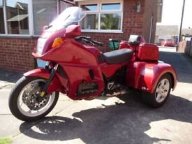 BMW K1100LT TRIKE coverted by PANTHER TRIKES LTD px swaps considered