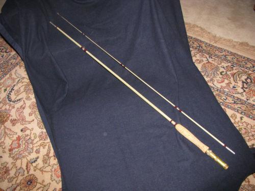 Vintage Fiberglass Fishing Rod Ebay