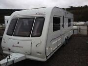 Touring Caravan Fixed Bed
