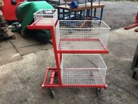 QUALITY ORDER PICKING TROLLEY