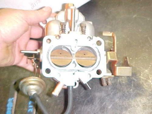 on Carter Carburetor Ford 300