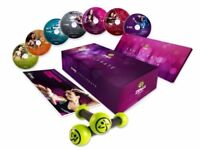 Zumba Training Manual & Nutrition Guide in English, German, Spanish. Toning Sticks included
