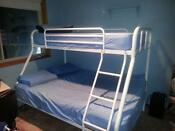 White Double Bunk Beds
