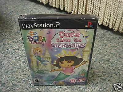 Dora the Explorer: Dora Saves The Mermaids playstation 2 ps2 new Playstation 2 Dora