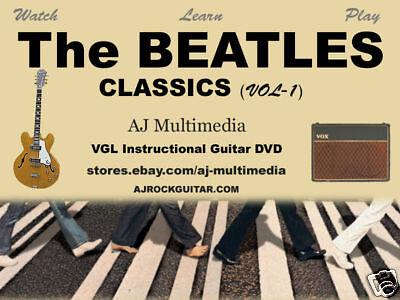 Custom Guitar Lessons,  Learn Beatles - DVD Video