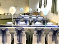 Chair Covers With Sashes For 90p! For Weddings, Parties & Events