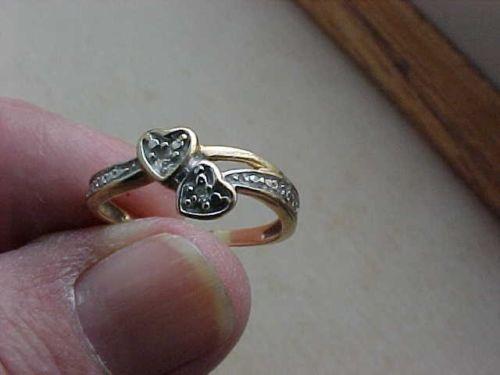 Diamond Chip Ring Ebay