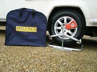 Milenco Caravan Leveller / Motorhome Leveller (instead of wheel ramp / wheel wedge)