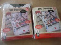Brand New In Packaging One Direction Single Duvet Set With Pillow. Can Deliver