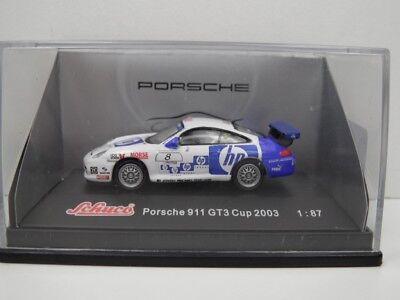 """Schuco - Porsche 911 GT3 Cup 2003 - 1:87  """" hp """" -  1:87 - TOP in OVP - #7040"""