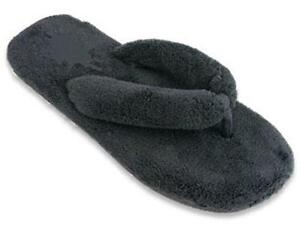 65e69bc106b Fuzzy Flip Flop Slippers