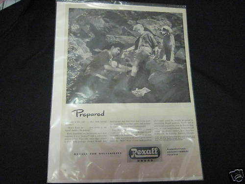 Rexall Drugs Ad 1940