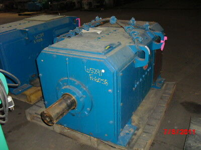 400 HP DC General Electric Motor, 1150 RPM, 6058 Frame, DPFV, 500 V Arm.