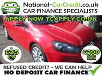 Volkswagen Golf 1.4 TSI GT 5dr Good / Bad Credit Car Finance (red) 2009