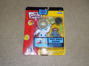 PLAYMATES, THE SIMPSONS DEEP SPACE HOMER ACTION FIGURE SERIES 15