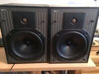 Kef C20 bookshelf speakers