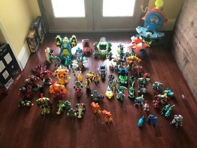 Planet Heroes Collection. Every Figure, vehicle, play set and accessory made.